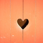heart in a fence