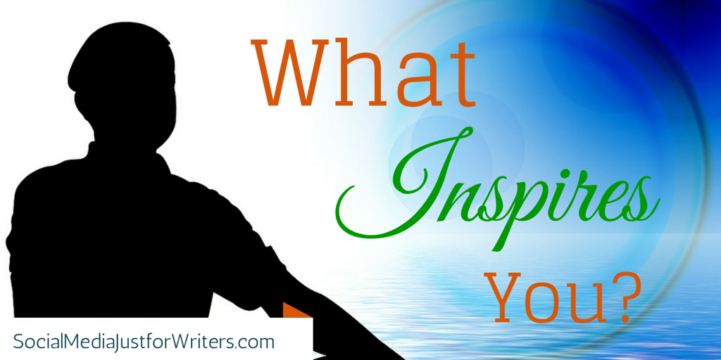 Do What Inspires You by Frances Caballo of Social Media Just for Writers