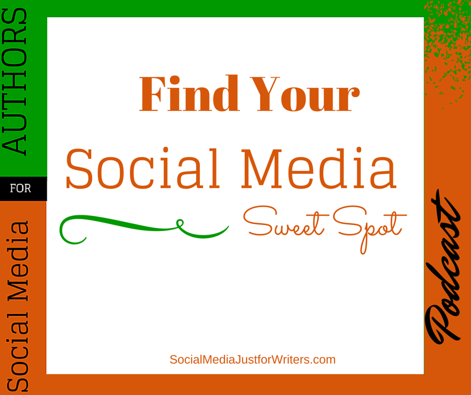 Episode 14 - Social Media Sweet Spot