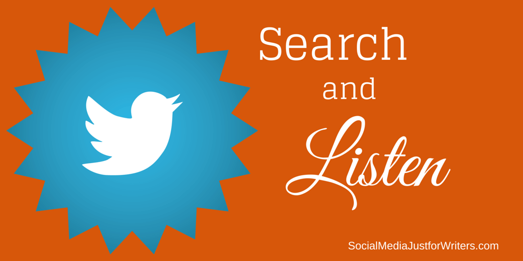 Search & Listen on Twitter by Frances Caballo