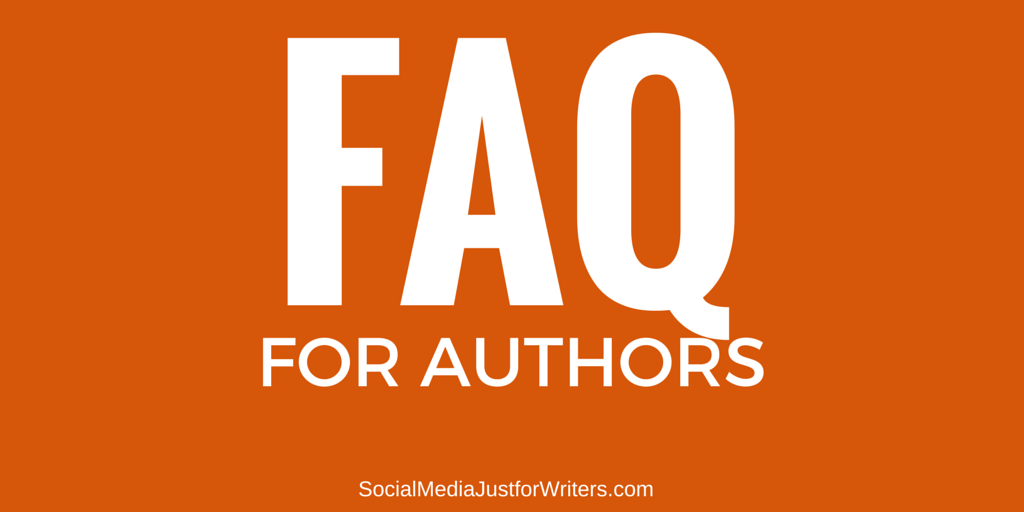 FAQ for Authors by Frances Caballo