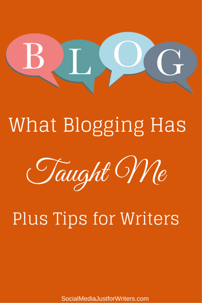 Blogging Tips for Writers