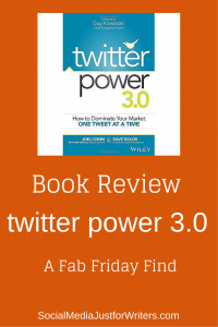 Frances Caballo's Fab Friday Find: Book Review of Twitter 3.0