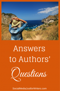 Answers to Authors' Questions by Frances Caballo