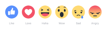 Facebook's New Like Button Released - My Reactions - Frances Caballo