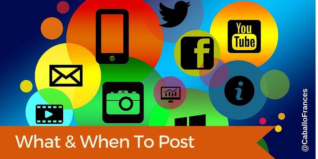 What to Post on Social Media Plus 38 Examples by Frances Caballo