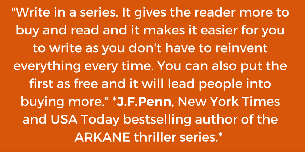 Book marketing tip from Joanna Penn