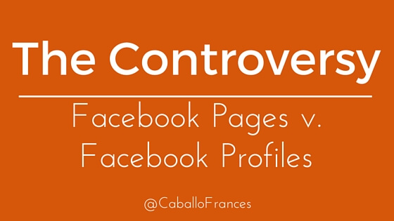 The Controversy - Do Authors Need a Facebook Page? by Frances Caballo