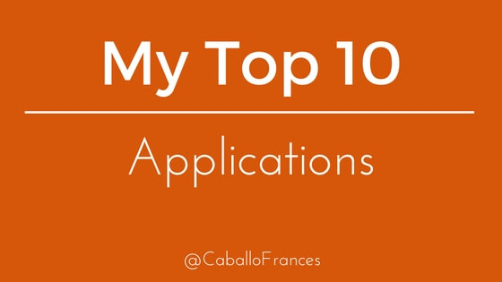 The Only 10 Applications You'll Ever Need by Frances Caballo