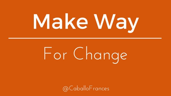 Make Way for Change on Social Media