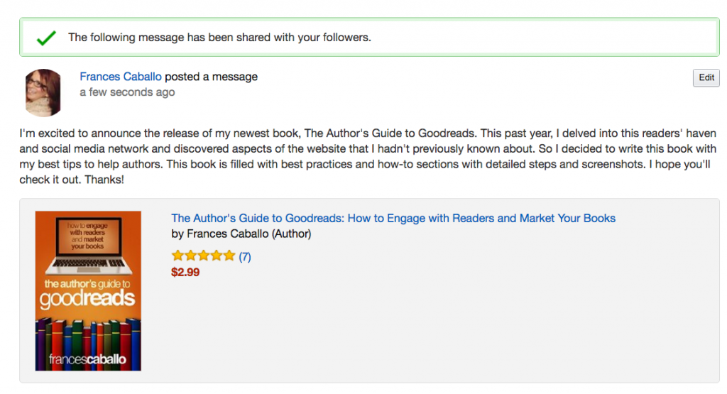 The Author's Guide to Goodreads
