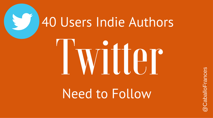 Indie Authors: 40 Twitter Users to Follow