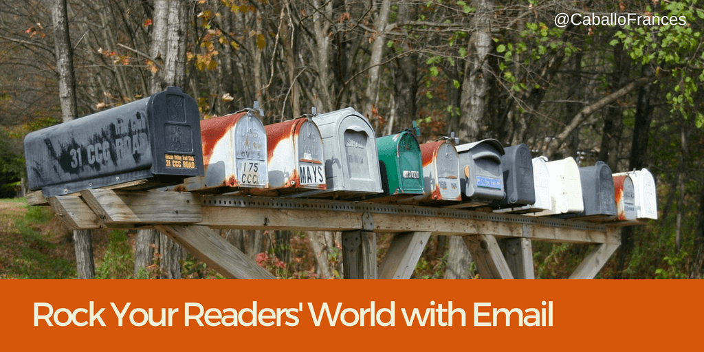 Rock your readers' world with email marketing