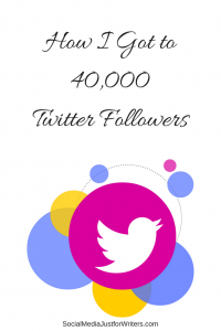 How I Got to 40,000Twitter Followers