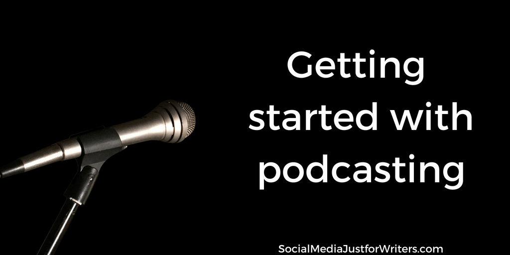 author podcasting