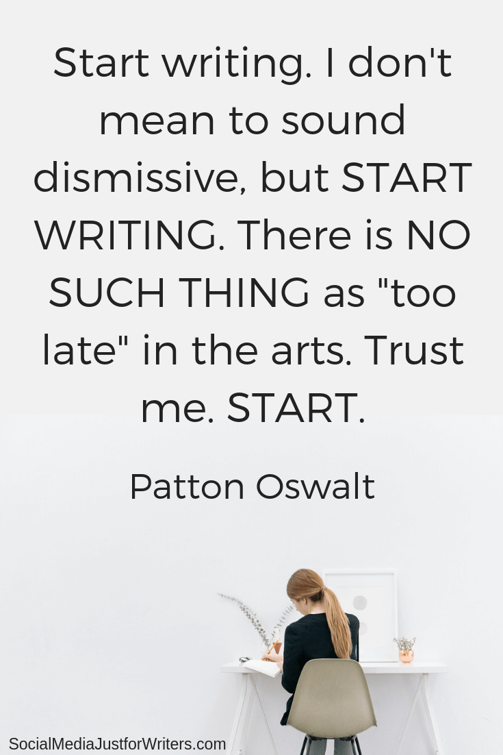 Patton Oswalt quote