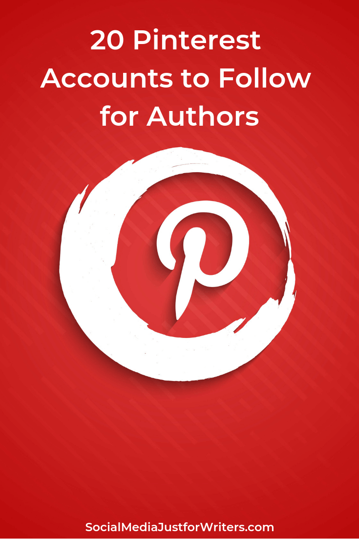 20 Pinterest Accounts to Follow for Authors