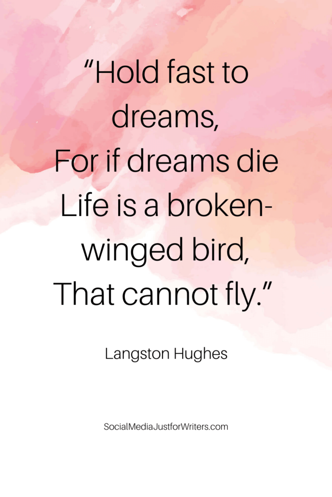 Langston Hughes quote