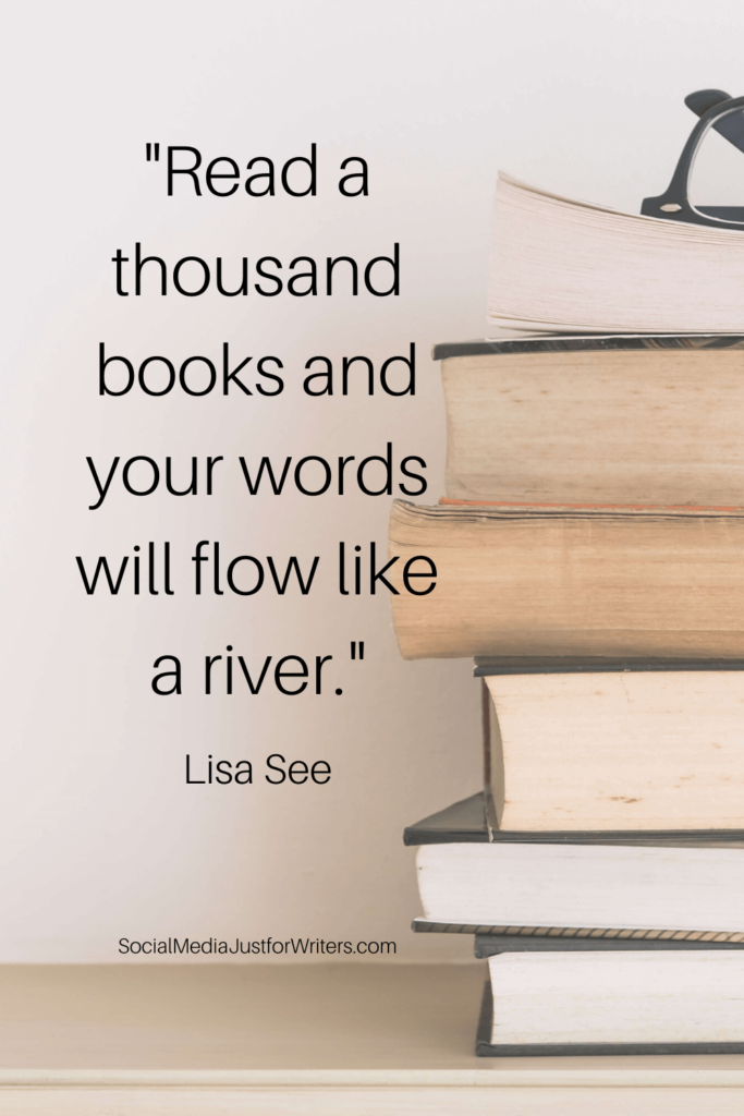 Read a thousand books - Lisa See quote
